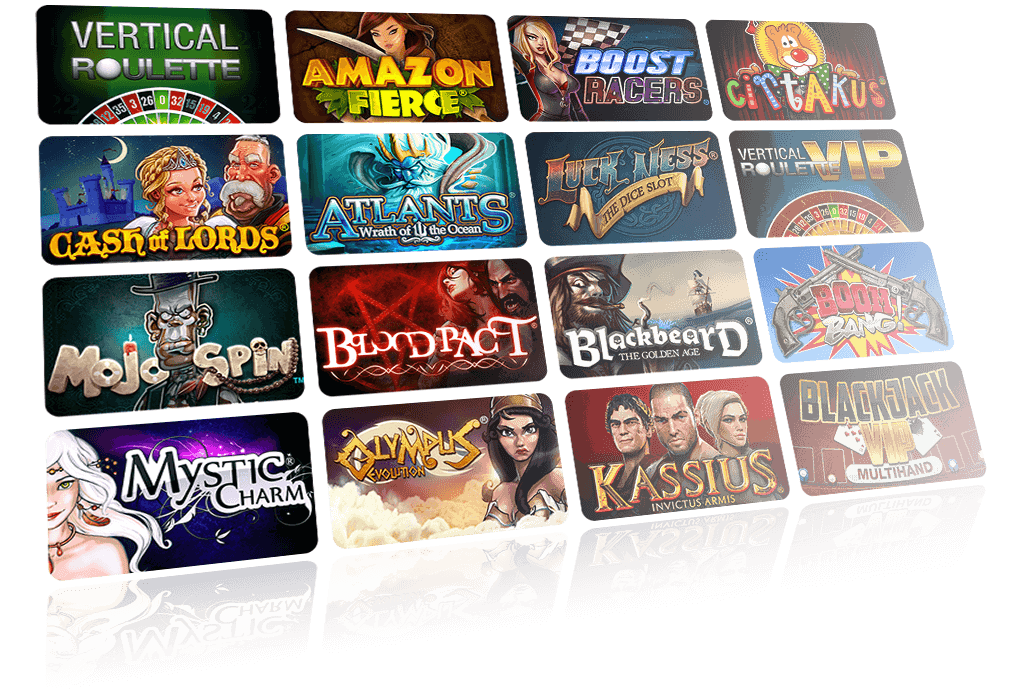 Online casino games at Circus Peru