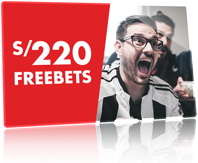 Freebets up to s/220